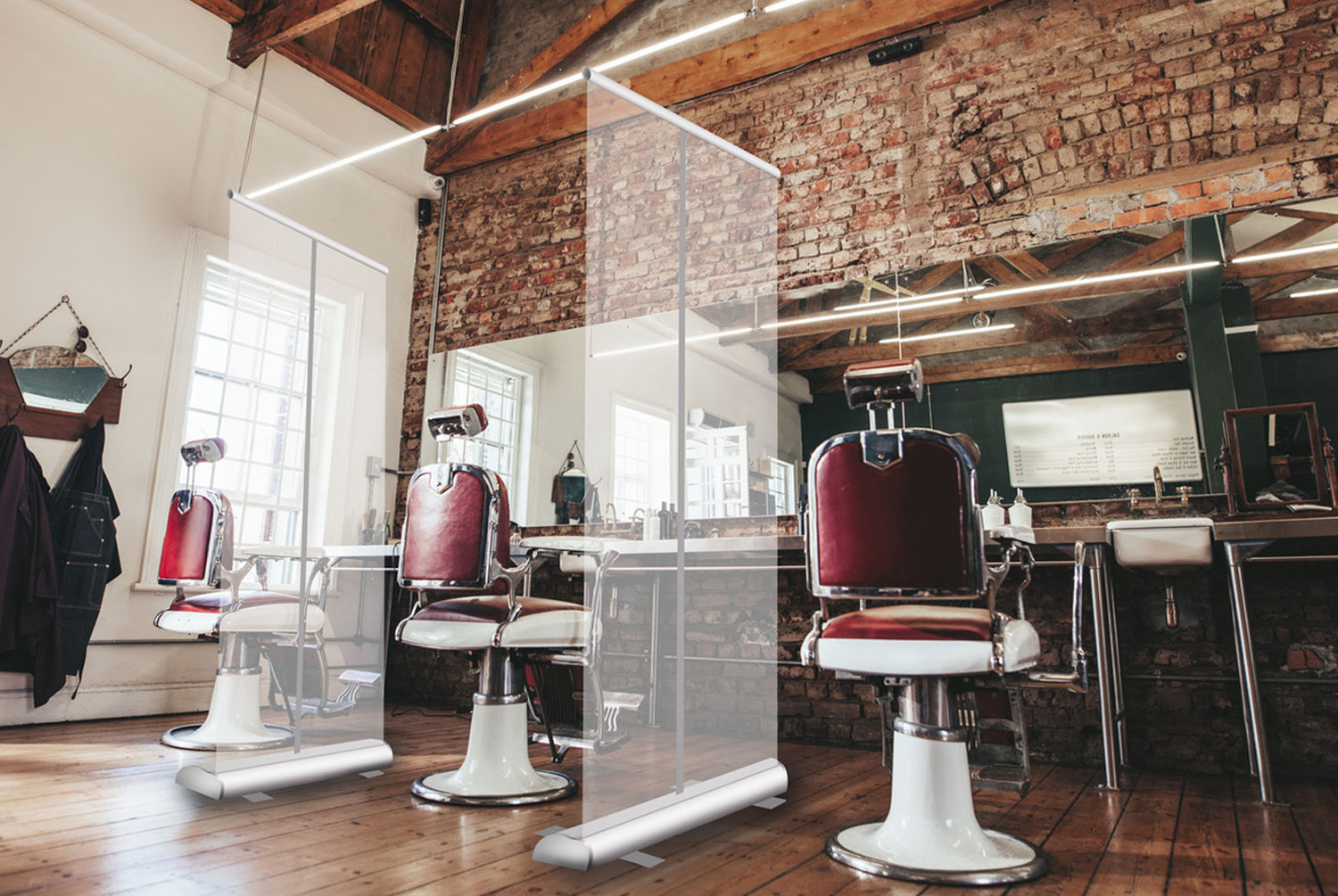 Barber Chair Dividers