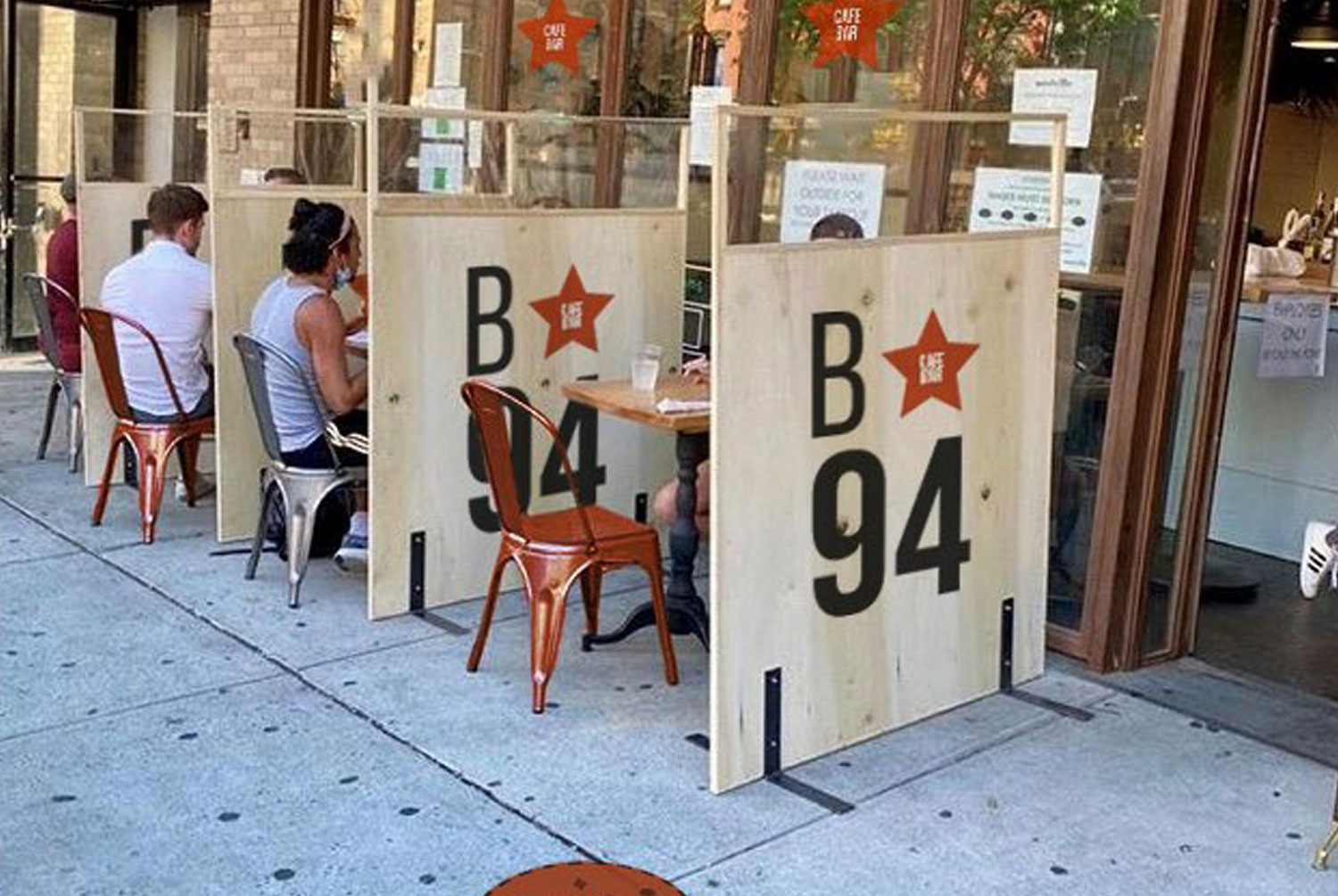 Bar Table Dividers